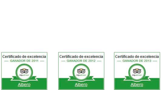 Certificados Trip Advisor